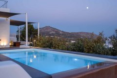 Soil of Sun Luxury Suites in Megalochori of Santorini island